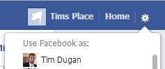 facebook as