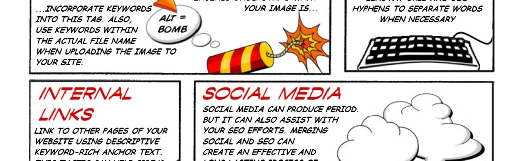 SEO Guide – Comic Book Edition