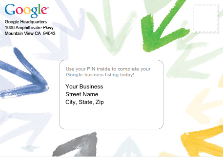 Google My Business Guide - Postcard