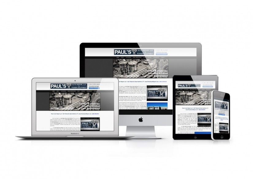 Connecticut Web Design - WordPress Auto Repair Website