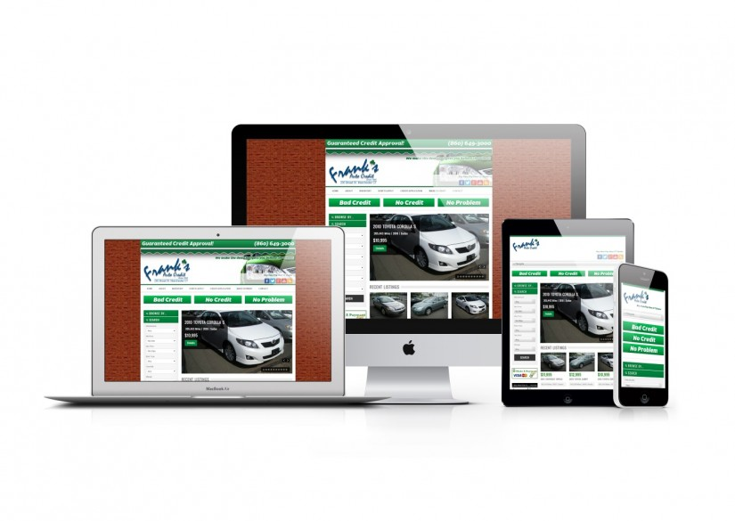 Connecticut Web Design - WordPress Car Dealer Website