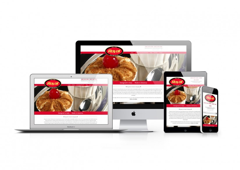 Connecticut Web Design - WordPress Ice Cream Website