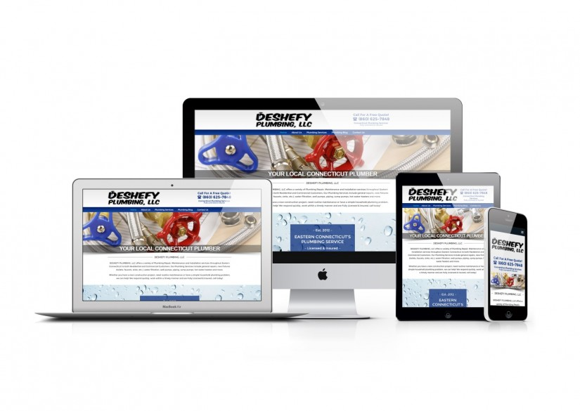 Connecticut Web Design - WordPress Plumbing Website
