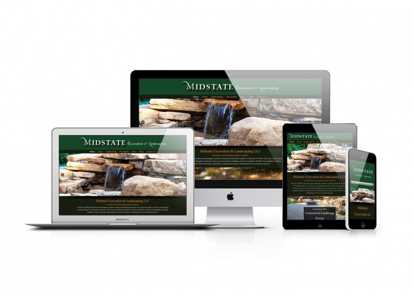 Connecticut Web Design - WordPress Landscaping Website