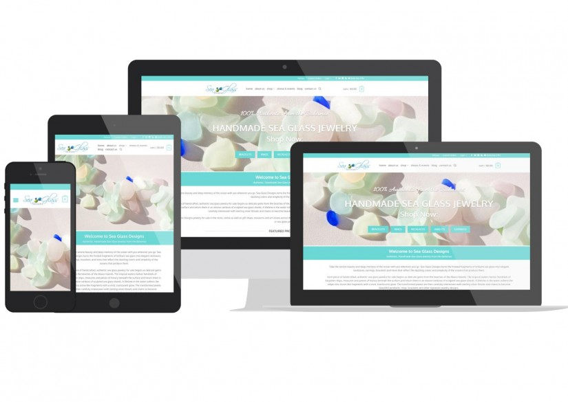 Connecticut Web Design - Sea Glass Designs