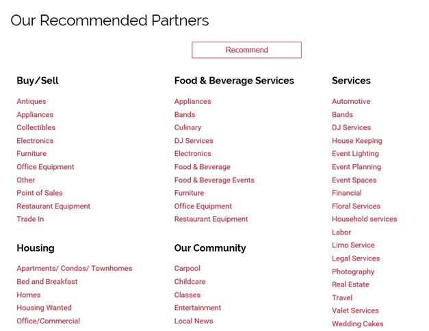 Food and Beverage Connections SEO