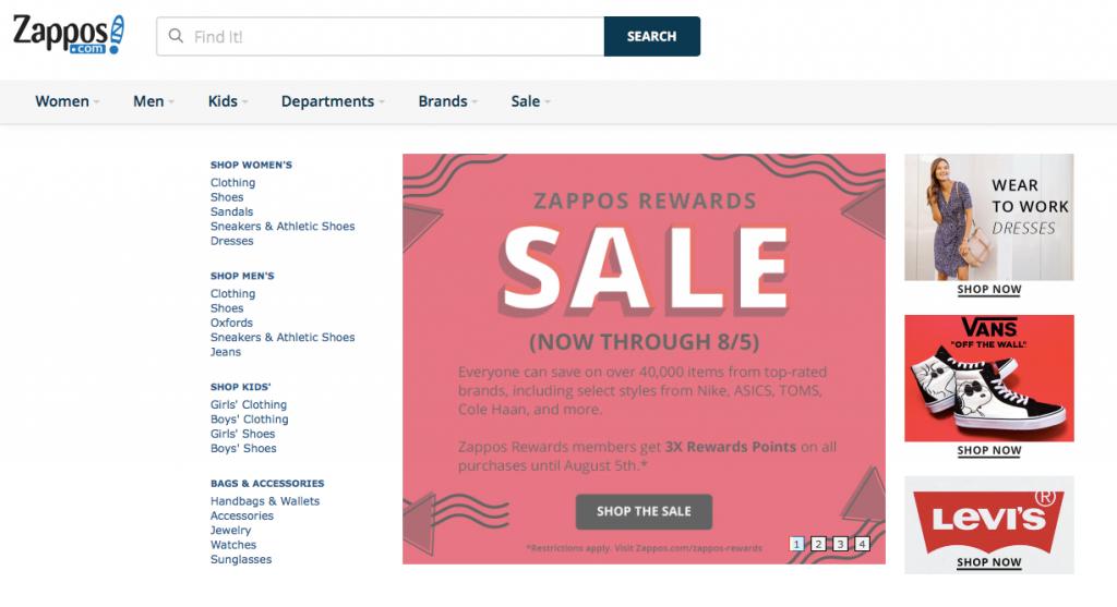 Zappos SEO